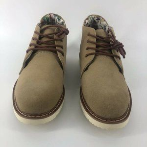 Globe Mens Daley Chukka Boots Tan Lace Up 9
